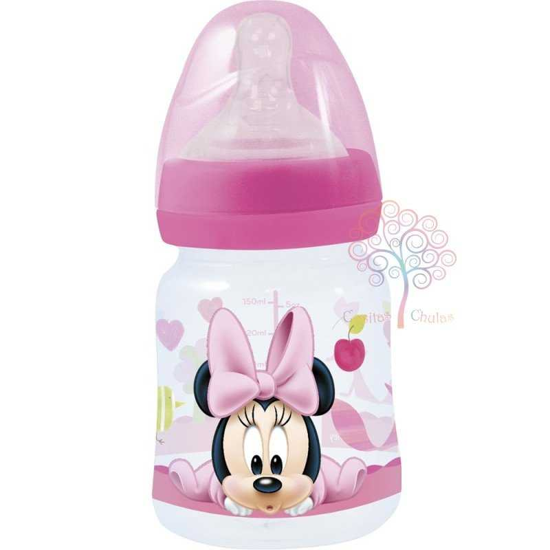 Biberón Minnie Mouse Disney Silicona 150ml