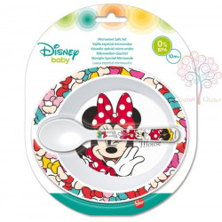 Set Minnie Mouse Baby Microondas 2 piezas