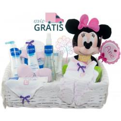 Canastilla Mustela Disney Minnie en prácticas