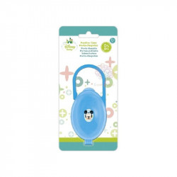 Porta chupetes mickey mouse azul