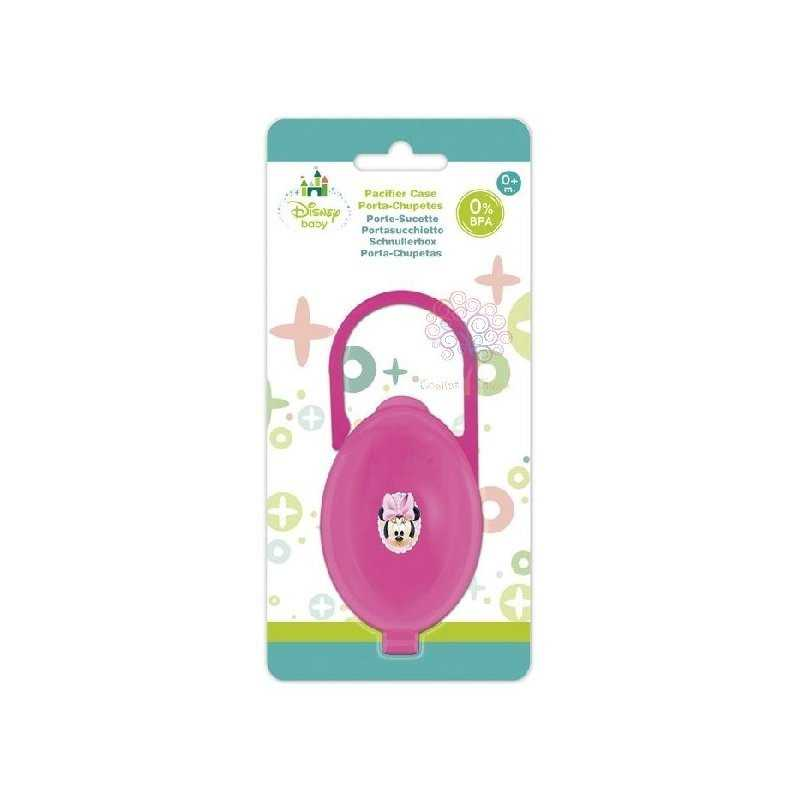 Porta chupetes minnie mouse