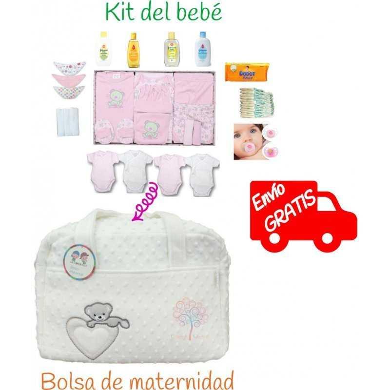 Bolso hospital bebé daisy