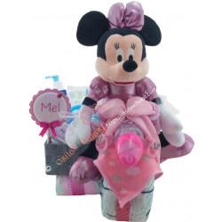 Moto de pañales con sidecar Disney Minnie Mustela