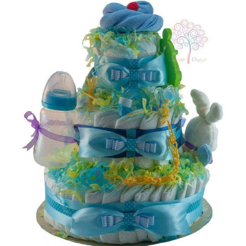 tarta de pañales cake