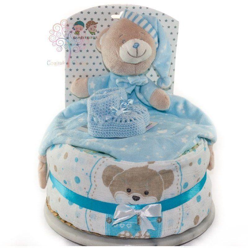 tarta de pañales nacimiento sueños