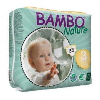 pañales de recién nacido de bambú