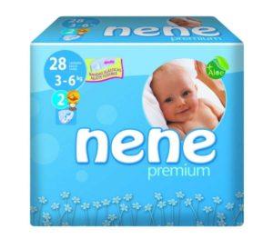 paquete pañales recién nacido con aloe
