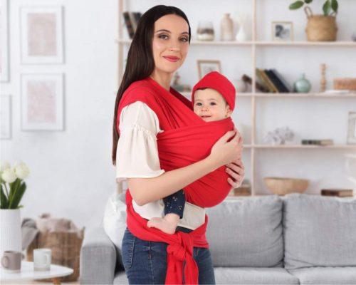 porteo ergonómico recién nacido